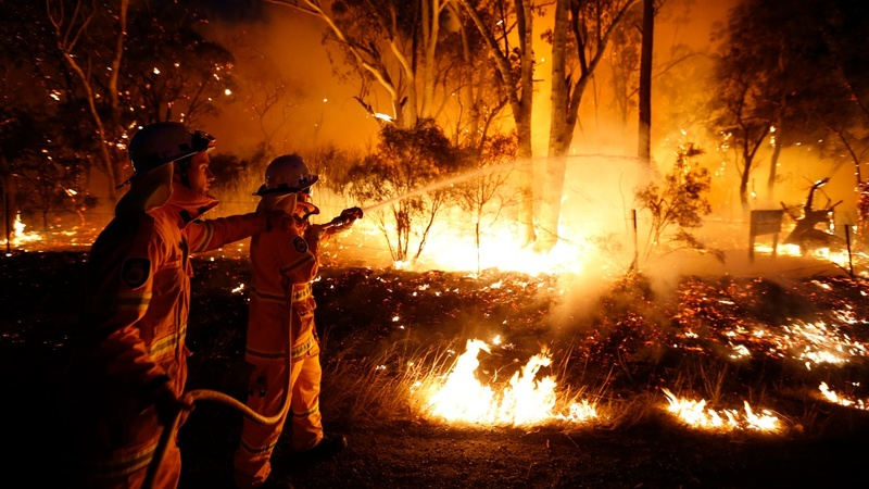 A deadly start to Australia's wildfire season