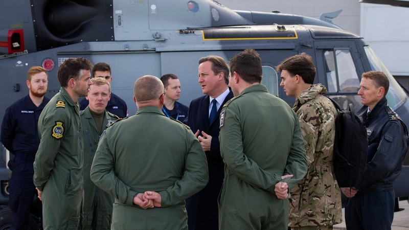 David Cameron: 'We must bomb ISIS'