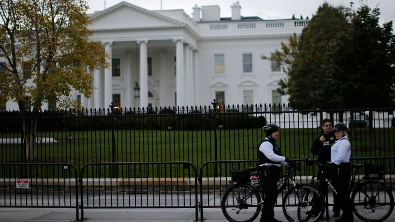 White House in lockdown after fence jumper