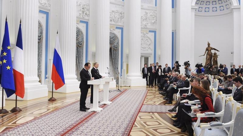 Putin and Hollande strike Syria deal