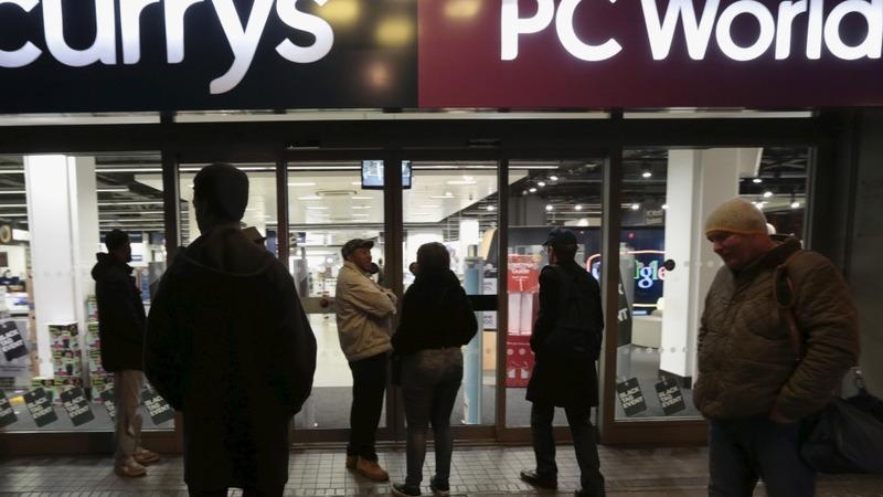 UK retailers take Black Friday online
