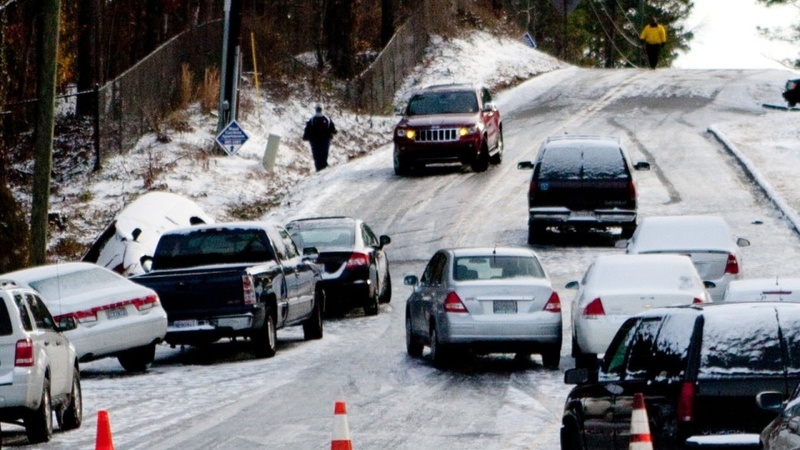 Mother Nature makes holiday travel difficult