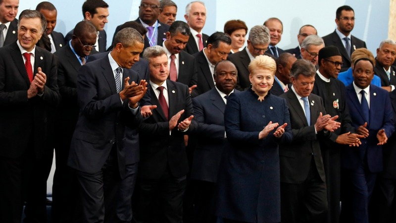 World leaders gather for historic climate conference
