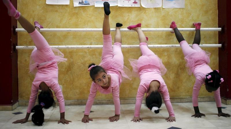Gaza: From bombs to ballerinas