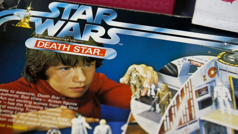 'Star Wars' vintage toys go galactic