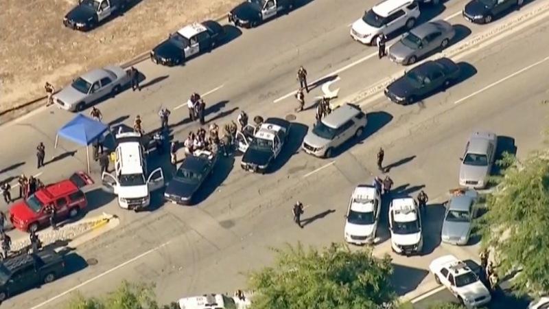 'Active shooter' in San Bernardino, 20 casualties reported