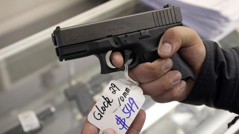 Black Friday saw record gun sales