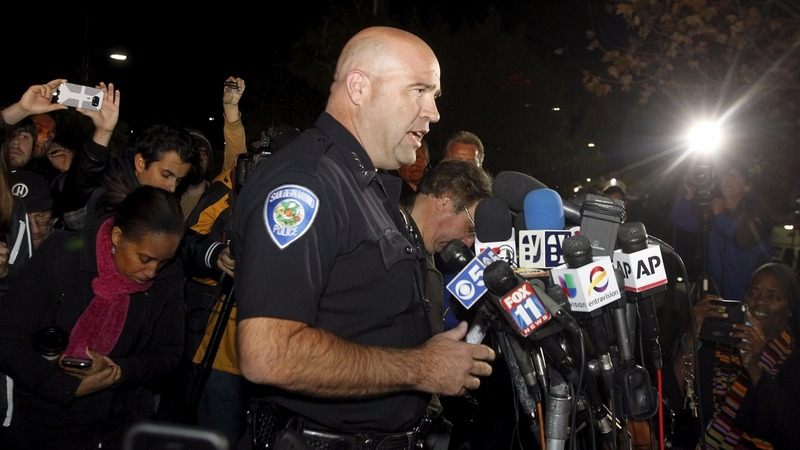 Suspects named in California mass shooting