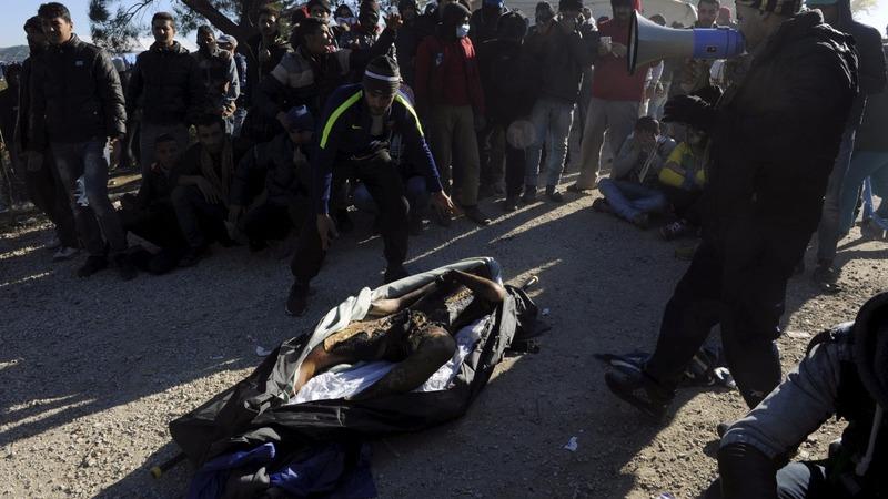 Migrant found dead on Greek border