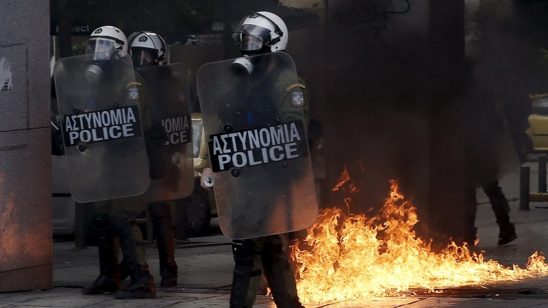 Greece paralysed by anti-austerity strikes
