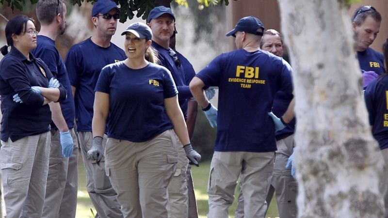 FBI looks for terror links after shootings