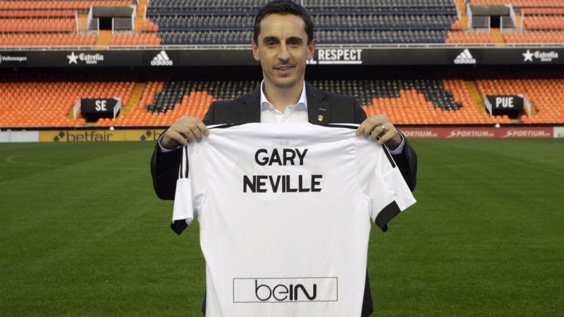 VERBATIM: Gary Neville will coach Valencia