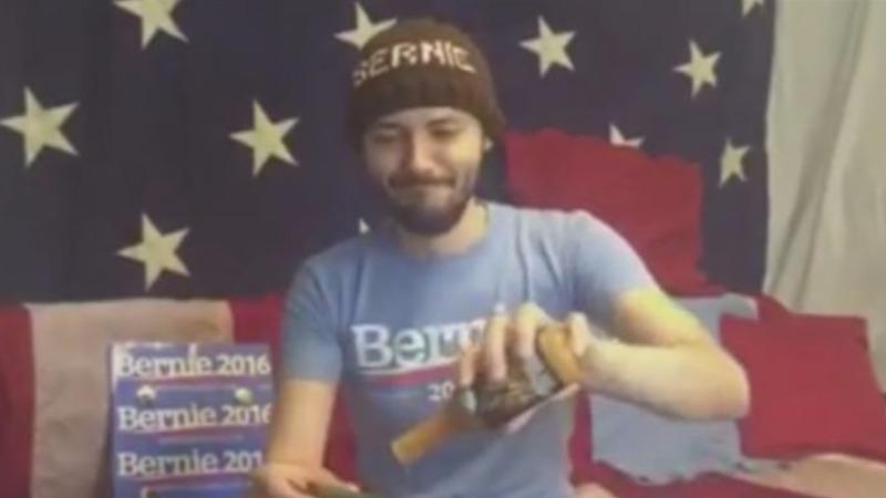 Sanders fans feel the Bern online