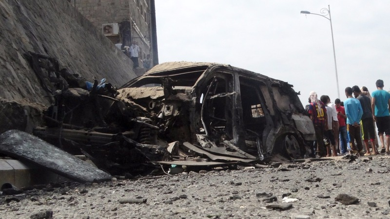 IS claims deadly attack on Yemen governor