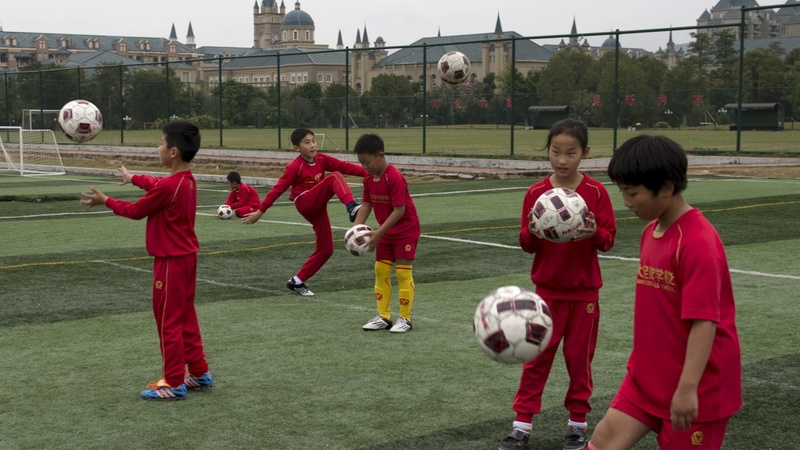 China pours money into World Cup dream