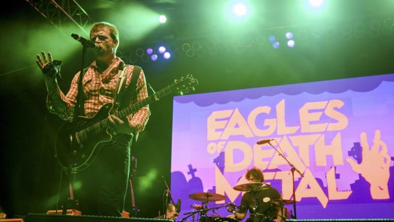 Eagles of Death Metal make Paris return