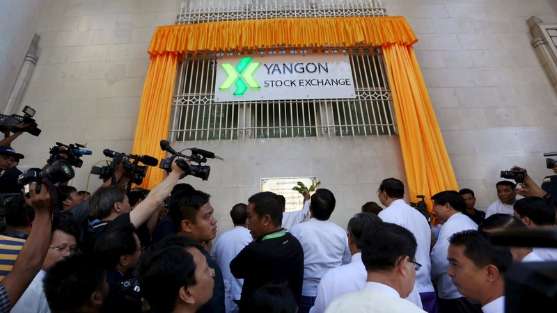 Myanmar's stock exchange opens with no stocks
