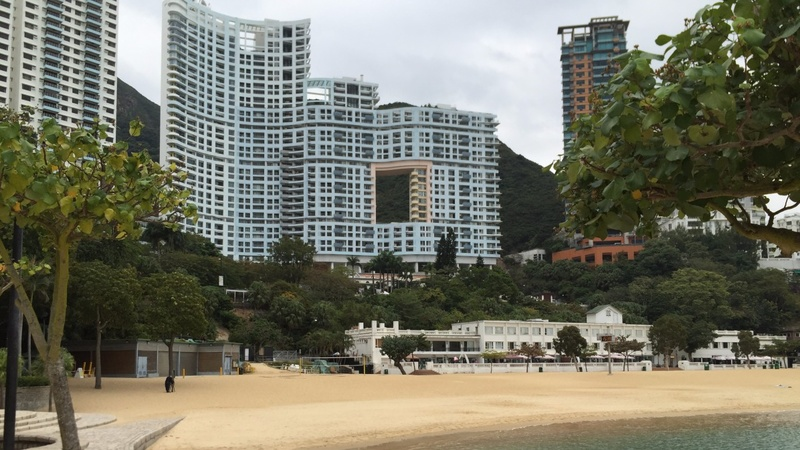 Hong Kong's 'holey' skyscrapers
