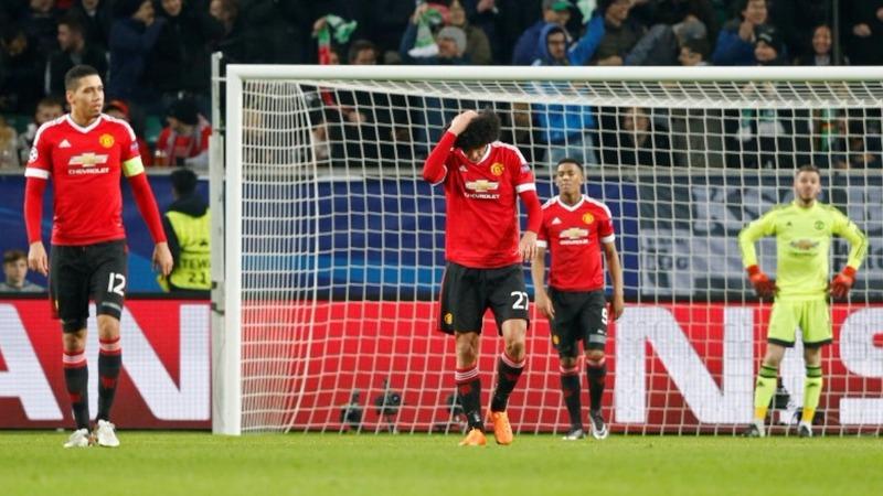 Champs league joy, woe for Manchester clubs