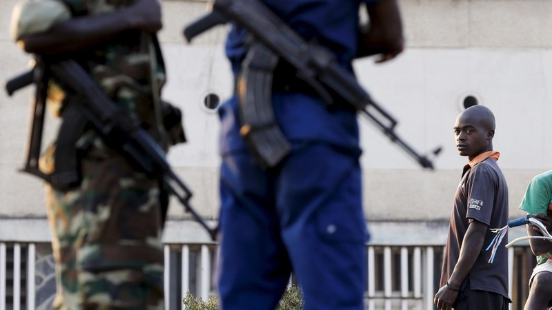 Burundi military sites attacked