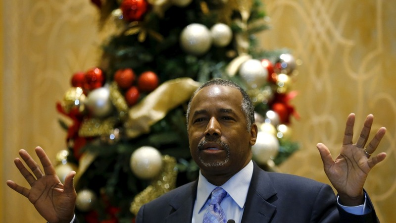 Carson joins Trump in independent threat