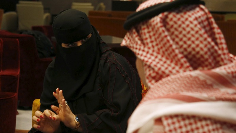 Saudi women vote for first time