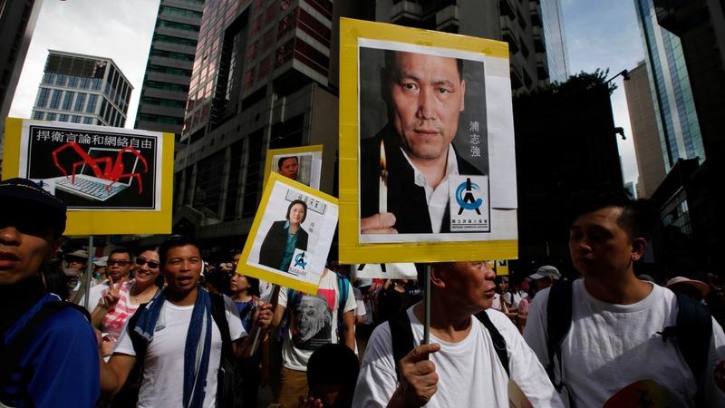 China puts a free speech champion on trial