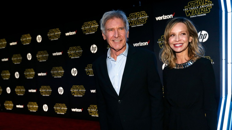 Old and new faces mix at Star Wars premiere
