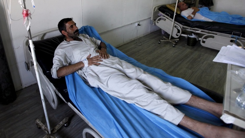 Iraq struggles to pay for war and healthcare