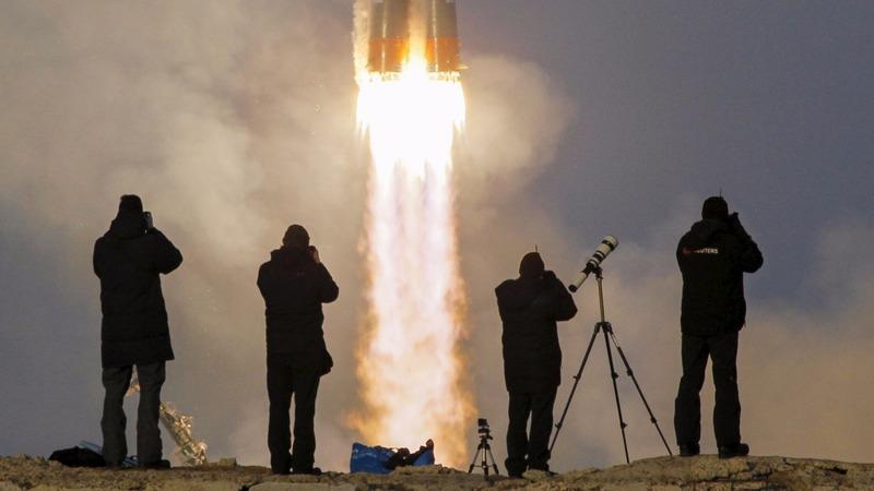 British astronaut reaches space station