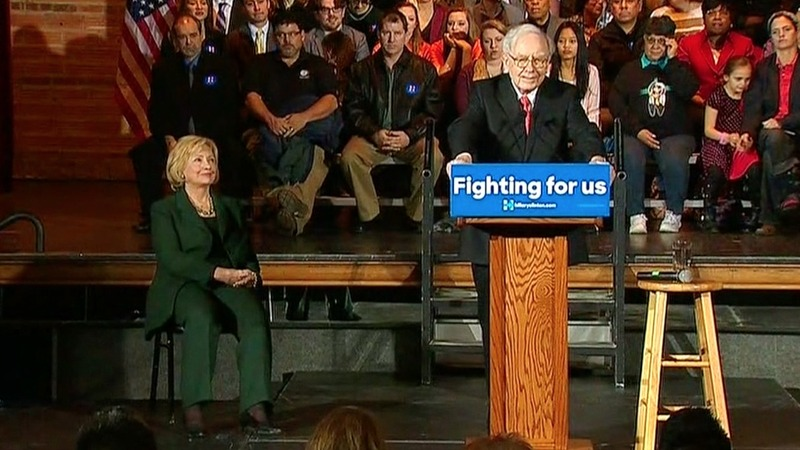 "Clinton proposes expanding ""Buffett Rule"""