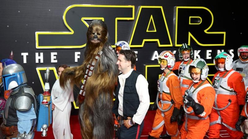 VERBATIM: Star Wars lands in London