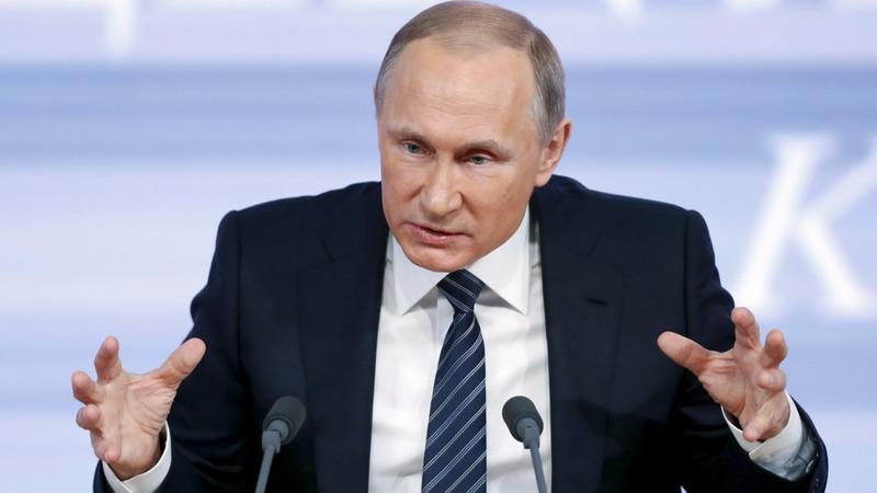 Trump's biggest fan: Vladimir Putin