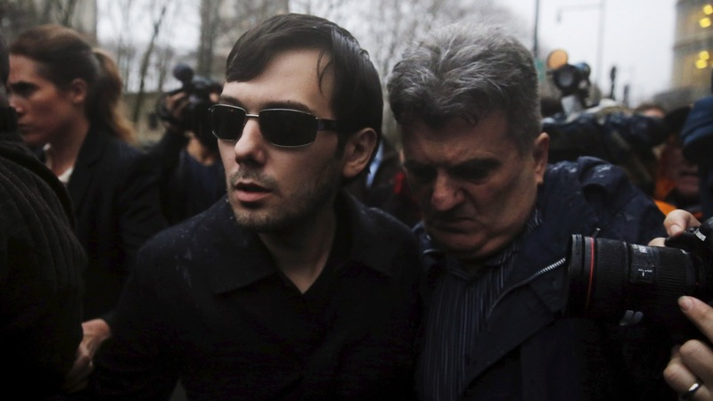 Shkreli, charged with fraud, released on $5 million bond