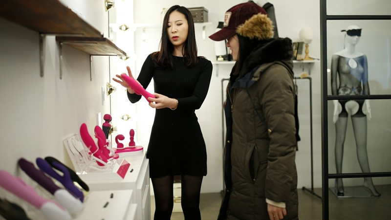 South Korean sex shop aims to empower women