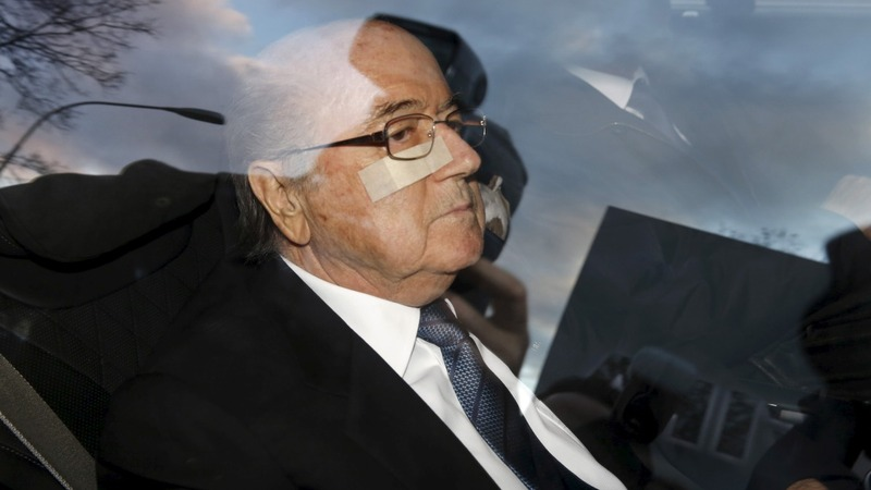 Blatter grilled over suspect payment