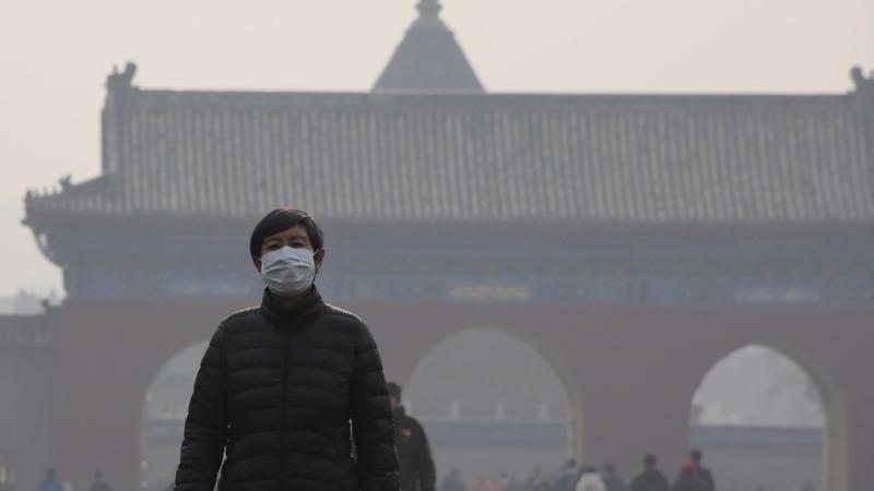 Beijing on second pollution 'red alert'