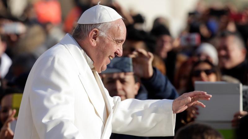VERBATIM: Pope praises Syria peace plan