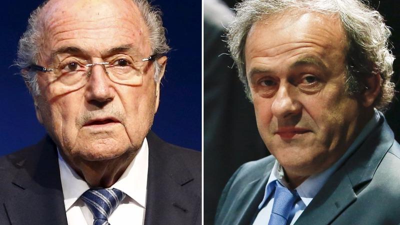 Blatter, Platini face 8-year football ban