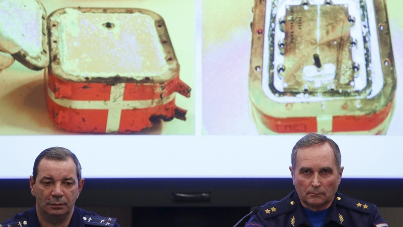 Russia says jet black box 'unreadable'