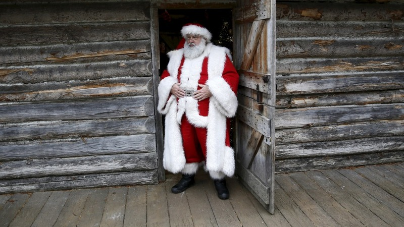 Santa's 2015 goodwill message from Lapland