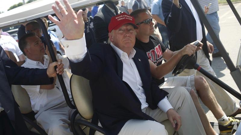 2015: Trump's Iowa launching pad