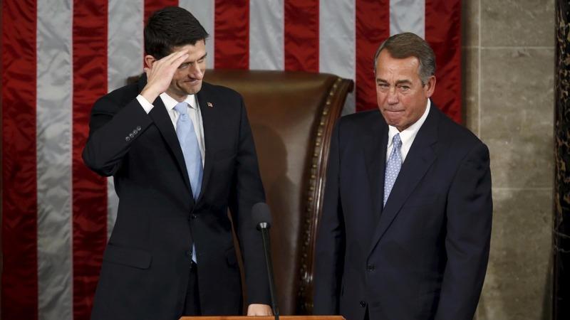 2015: Chaos in Congress ushers in Ryan era
