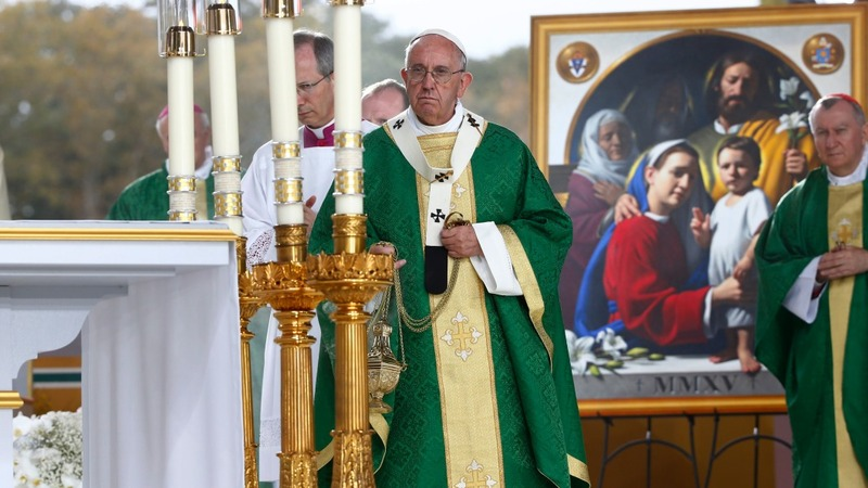 2015: Pope in the USA