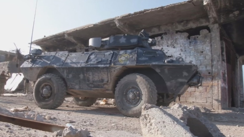 Iraqi forces battle Islamic State in Ramadi
