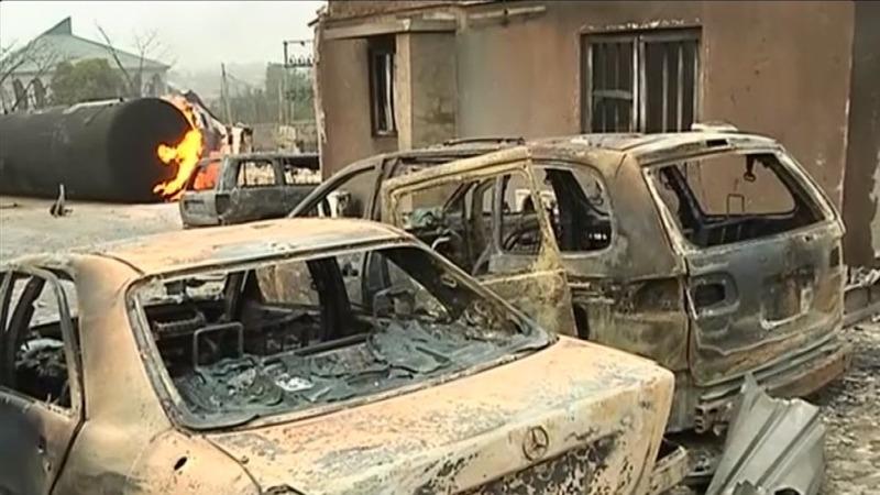 Nigeria gas plant blast kills many
