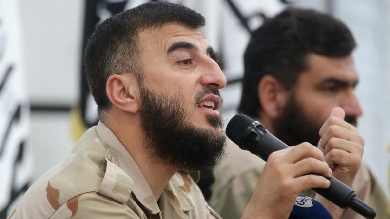 Russian airstrike kills top Syrian rebel leader