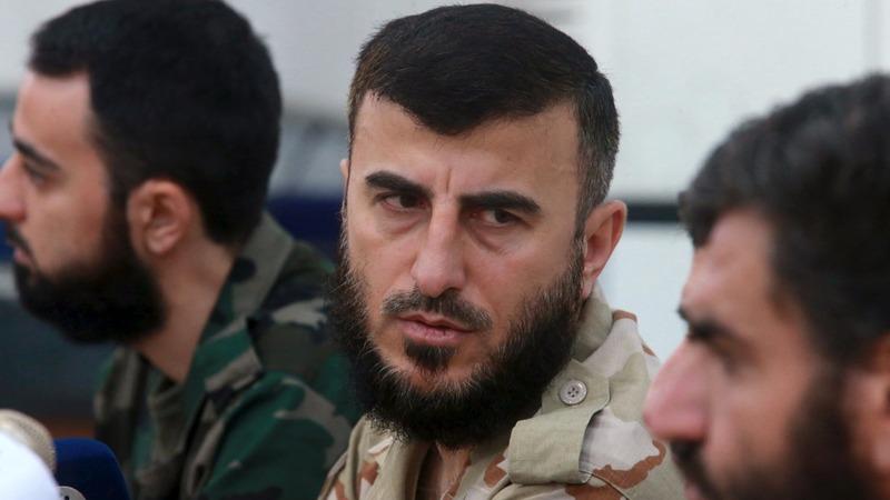 Top Syrian rebel leader killed in airstrike