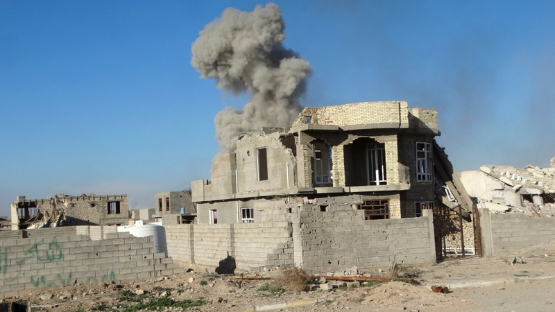 Iraqi troops close to recapturing Ramadi