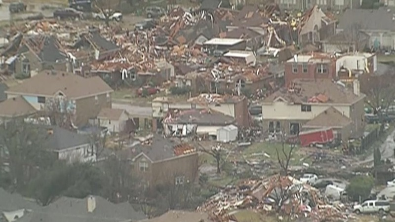 At least 11 dead from Texas tornadoes